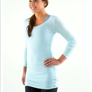 Lululemon Elongate Burnout Long Sleeve